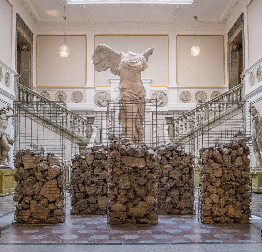 ©Jenny Nordmark. Bild från utställningen EVA på Konstakademien. Foto: Jean-Baptiste Beranger. Beställare: Eva Bonniers donationsnämnd.