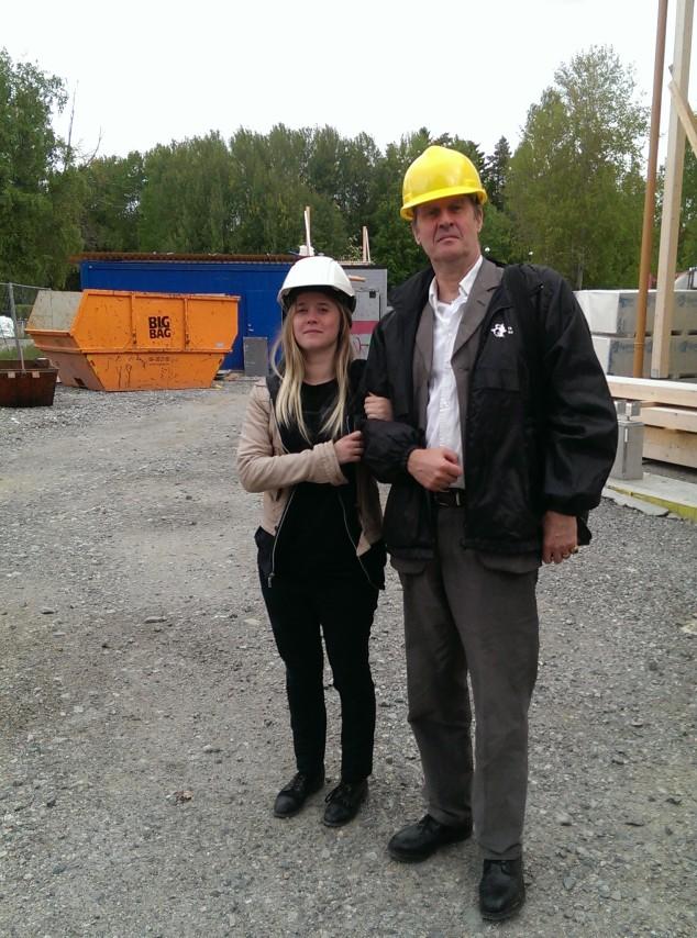 ©Ann Magnusson. Anna & Michael von Hausswolff. Foto: Ann Magnusson. Beställare: Huge Fastigheter.