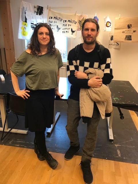 Dharana Favilla, Skarpnäcks kulturhus och Martin Kozlowski, konstnär. Bild: Ann Magnusson. Beställare: Stockholm konst.