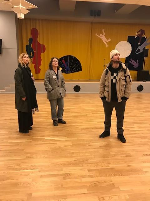 Besök hos Folkets Hus, Bagarmossen. Bild: Ann Magnusson. Beställare: Stockholm konst.