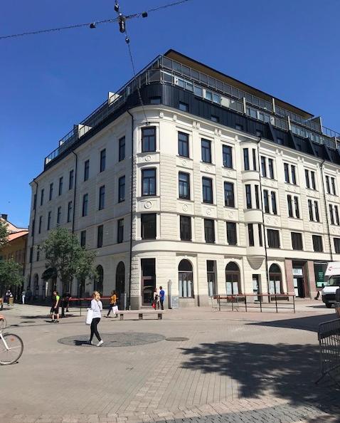Västra torggatan i Karlstad. Beställare: Karlstad kommun.