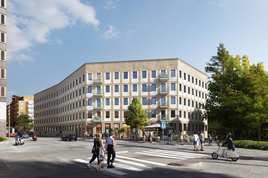 Kaksmulan ©Vera Arkitekter. Beställare: Stena Fastigheter