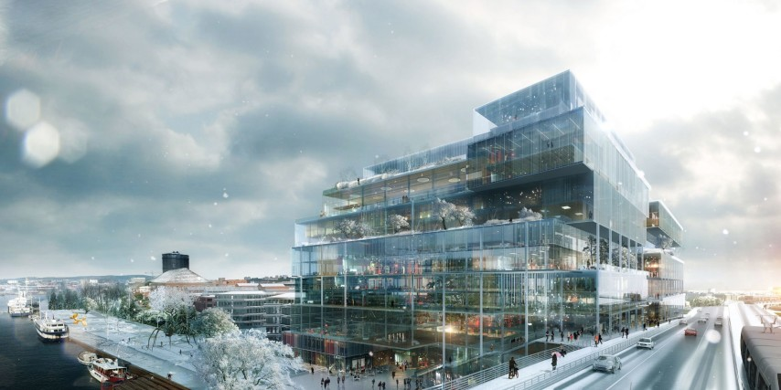 Visionsbild ©Erik Giudice Architects.